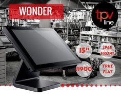Con Wonder POS más espacio en el mostrador de tu negocio