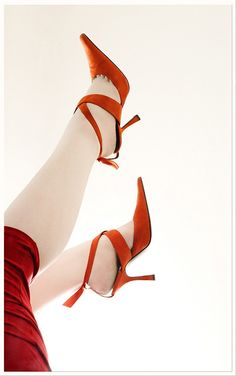 Love red shoes