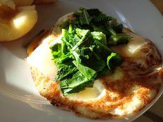 Turnip Greens on Eggs, Featured