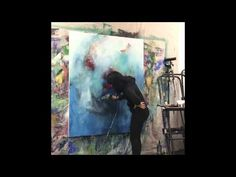 "▶ Kings Of Leon ""Beautiful War"" Painting in progress - YouTube"
