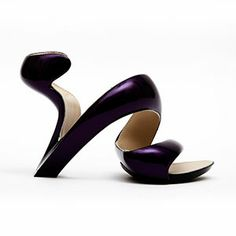 Julian Hakes - Mojito Shoe Metal - Deep Purple / Nude MUST HAVE !!