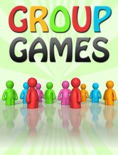 A collection of group games that can be played with children and young people. Fun and active.