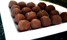 Jameson Whiskey Truffles with Bailey's Sugar Crystals and 25 other St. Patties Day desserts!