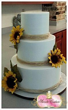 SUNFLOWER CAKE ADD A CROSS