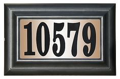 With 100 ft. visibility, the QualArc, Inc. Edgewood Classic Rectangular Plastic Lighted Address Plaque is ideal for finding your home from the street. It's low voltage and can be installed into your existing doorbell transformer. Garden Plaques, Do It Yourself Kit, Frame Light, Address Plaque, Address Numbers, Address Signs, House Numbers, Incandescent Bulbs