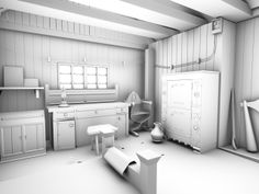Store room (Occlusion render)