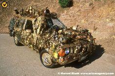 Edith Art Car by Gary Whitely   Art Car Agency