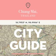 Where to eat, shop and stay in Chiang Mai, Thailand #travel #thailand
