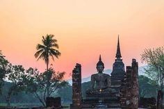 Top 15 Tourist Attractions in Thailand - Tour To Planet Buddha Temple, Fantastic Show, Best Scuba Diving, Clean Beach, Visit Thailand, Adventure Film, Sand And Water, Tropical Beaches, Ancient Ruins