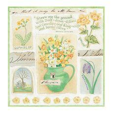 Judith Glover Designs : Garden Days - March
