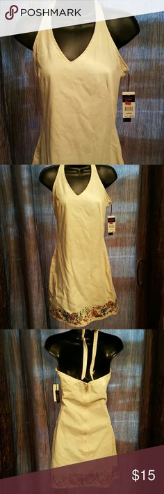 "Tommy Nice halter dress.  Length 32"" from neckline too hem. Zipper & clasp closure in back. Tommy Hilfiger Dresses Midi"