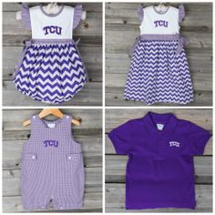 TCU Collegiate Collection from Smocked Auctions available now for Pre-Order at www.smockedauctions.com through Monday May 19th, 2014!