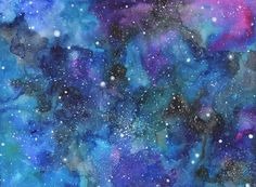 Watercolor Universe Background - Buscar con Google