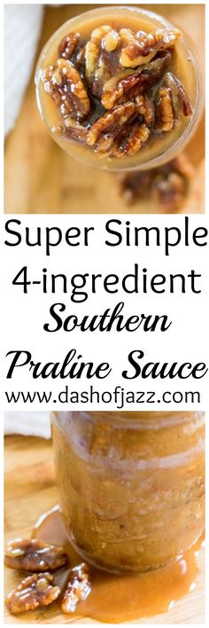 Simple Praline Sauce is a Southern staple that you need in your arsenal! | Dash of Jazz
