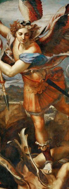 Saint Michael by Raphael, c.1504 - 1518