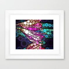 30x40 Abstract Flower Artwork Print by VQSTUDIO on Etsy, $225.00