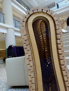 Hermes boutique Paris 2015, Hermes, Stairs, Boutique, Mirror, Furniture, Home Decor, Stairway, Decoration Home