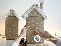 Adventní kalendář pro děti - video návod s postupem krok za krokem Diy And Crafts, Christmas Crafts, Calendar, Holiday Decor, Creative, Xmas, Advent Calenders, Christmas, Life Planner