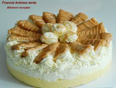 Bibimoni Receptjei: Francia krémes torta Cheesecake, Food And Drink, France, Cheesecakes, Cheesecake Pie