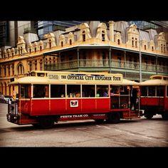 Perth Tram Company, West Perth WA #australia #travel