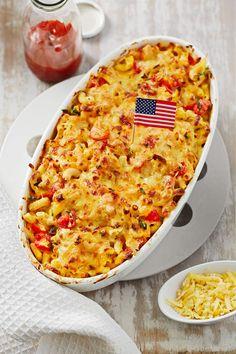 Killer Mac and Cheese, Nudelauflauf mit Tomaten und vieeeeel Käse