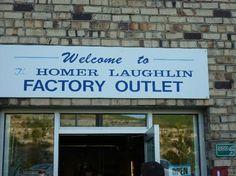 Homer Laughlin China Company Factory