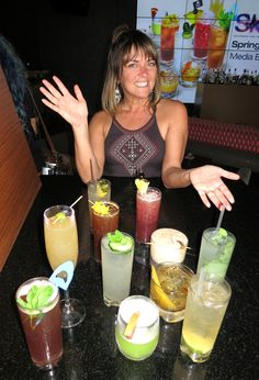 Jennifer Ackrill, Director of Mixology for  SKY Waikiki, kicks off her Spring Surf Cocktails Collection on April 11, 2017