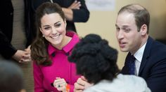 After visiting the 9/11 Museum and Memorial today, the Duke and Duchess of Cambridge arrived at the Door, an educational center for 12-24-year-olds in downtown Manhattan,