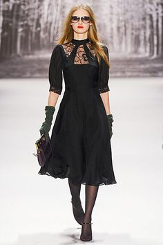 Milly by Michelle Smith. Fall RTW 2011. I love this dress!