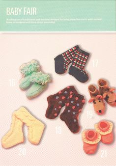 Knit 6 pairs of Booties and DK Patterns - PDF Knitting Pattern – Baby Knitting Patterns, Crochet Patterns, Baby Fair, Crochet Basics, Easy Knitting, Free Baby Stuff, Vintage Knitting, Baby Booties, Crochet Necklace