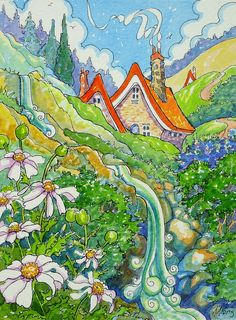 Mountain Memories Storybook Cottage Series | by Alida Akers