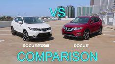 2017 Nissan Rogue vs 2017 Nissan Rogue Sport - Comparison