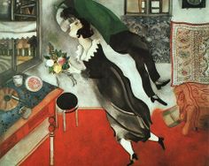 """""""Art must be an expression of love or it is nothing."""" - Marc Chagall"""