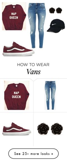 """Untitled #11"" by carlyn-wang on Polyvore featuring Vans, Ted Baker, Erica Lyons and Nike Golf"