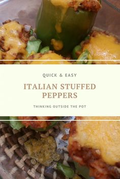 Italian Stuffed Pepp