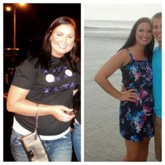 50 pounds in 11 months-- How she lost 12 dress sizes in 5 months.