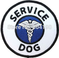 Service Dog Patch Guide Animal Medical Disability Assistance Iron On Applique Service Dog Patches, Service Dogs, Medication For Dogs, Cat Store, Cat Shedding, Cool Patches, Iron On Applique, Cat Grooming, Cat Collars