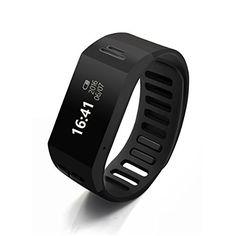Plustore Bluetooth 3.0 Bracelet Wireless Pedomrter Smartband for Android