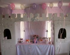 Princess party central!!! There isn't a little princess alive who doesn't need her own turrets. x