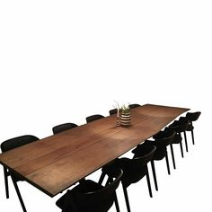 Planke spiseborde | Se vores store udvalg af planke spiseborde her Conference Room, Dining Table, Olie, Furniture, Home Decor, Creative, Decoration Home, Room Decor, Dinner Table
