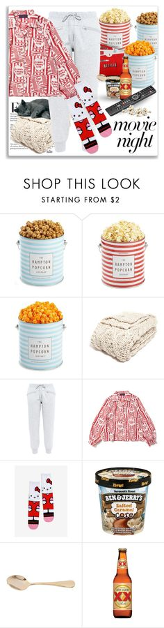""""""" All I Need !! """" by kateo ❤ liked on Polyvore featuring The Hampton Popcorn Company, Nordstrom, adidas, Bahne, movieNight and 6951"""
