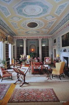 osborne house isle of wight interior hallway english country house ii pinterest. Black Bedroom Furniture Sets. Home Design Ideas