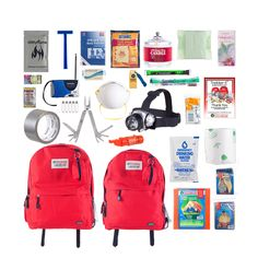 The Trekker II Emergency Supply Kit provides basic survival gear for two people to survive for three days. This emergency kit is compact enough to store snugly in a closet or in your car and makes a thoughtful wedding, holiday and family gift.