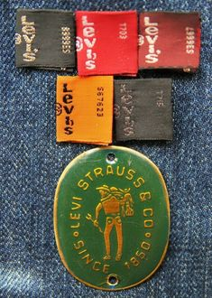 Levi strauss & co Vintage Jeans, Vintage Outfits, Clothing Tags, Levi Strauss & Co, Fashion Branding, Levis Jeans, Mens Fashion, Leather, Collections