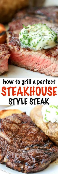 How to Cook the Perfect Steak! You can easily make delicious and tender steakhouse style steaks in your own backyard! Here are my top tips for steak perfection! #kingsford #ad