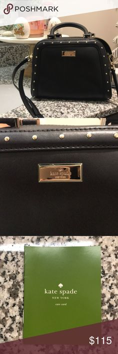 Kate Spade Cross Body Bag Black cross body purse. Never used and in great condition! kate spade Bags Crossbody Bags
