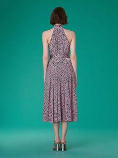 3ef7002e4d Diane von Furstenberg Sleeveless High Neck Halter Dress  #Furstenberg#Sleeveless#Diane