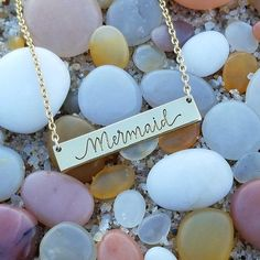 Mermaid Bar Necklace - Seatail