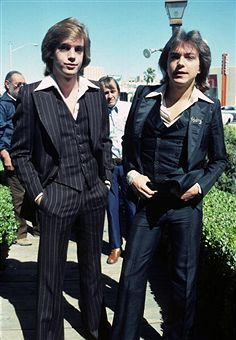 David Cassidy and his half brother Shaun Cassidy...Shaun's mother is Shirley Jones