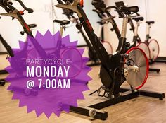 Are you ready to PartyCycle with @audi_spin  tomorrow at 7:00am?? Sign up at http://ift.tt/1mVm9JS  First Class is $10 promo code: referral10 and 1 Week Unlimited Classes always $25  #mondaymotivation #nevermissamonday